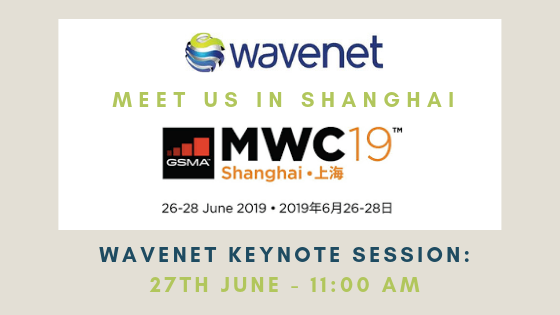 Wavenet keynote at MWC Shanghai