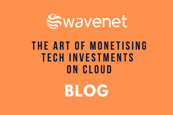 Wavenet blog - monetising tech investment on cloud