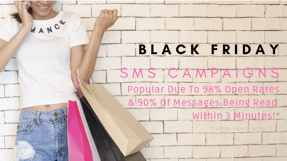 wavenet - Black Friday with SMS Marketing